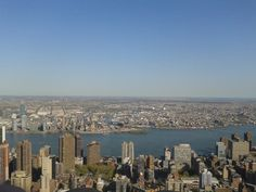 View from the Empire State Building- NYC