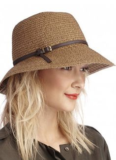 I love hats! Straw Bucket Hat