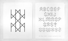 Tauba Aurbach Typeface #type #typography #poster #design #graphicdesign
