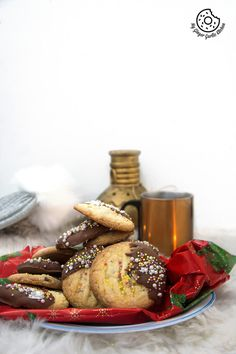 recipes-Chocolate-Dipped-Whipped-Shortbread-Cranberry-Cookies-anupama-paliwal-my-ginger-garlic-kitchen-5