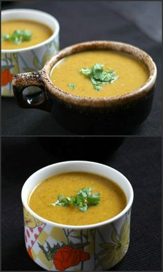 Lentil Soup is healthy, nutritious, (a good source of protein, iron, dietary fiber ) soup recipe prepared using split red lentil/masoor dal. It is very easy to make, filling and thick.