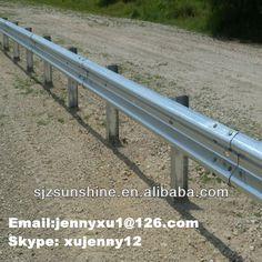 Highway guardrail (also named as Crash barrier, Safety Barrier, Road Barrier) $25~$50
