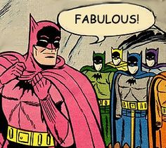 Batman is The Pink Caped Crusader, and he's FABULOUS!