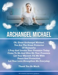 Angel Guidance, Spiritual Guidance, Light Qoutes, Positive Affirmations For Anxiety, Archangel Prayers, Unusual Facts, Ascended Masters, Beautiful Prayers, Inspirational Prayers