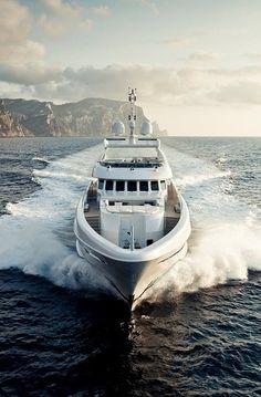 Yacht life.