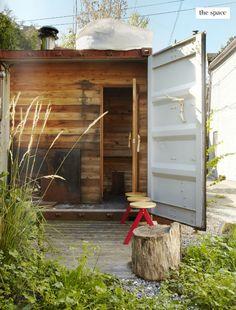 Sauna (Covet Garden magazine)