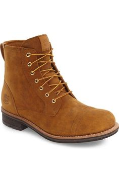 TIMBERLAND 'Willoughby' Cap Toe Boot (Men). #timberland #shoes #boots