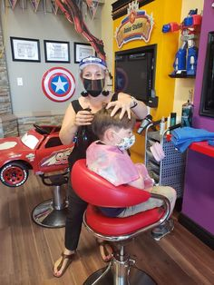 Superheroes wear masks Masks, Chair, How To Wear, Furniture, Home Decor, Living Room, Decoration Home, Room Decor, Home Furnishings