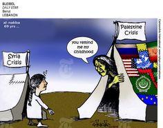 BLEIBEL (2017-05-15) Syria - Palestine: refugee crisis ÷÷÷  Source: Daily Star - Beirut, Lebanon Keywords: COLOR SYRIA AL NAKBA PALESTINE REFUGEE CRISIS TENTS ISRAEL 051517 Provider: CartoonArts International / The New York Times Syndicate  New York Times Syndicate