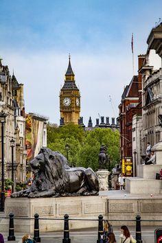 Always beautiful, London. Trafalgar square.