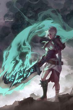 Fanart: Riven by shilin.deviantart.com on @deviantART