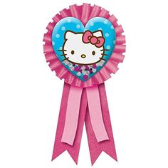 American Greetings Amscan Hello Kitty 6 x 334 Award Ribbon with Confetti -- For more information, visit image link.Note:It is affiliate link to Amazon.