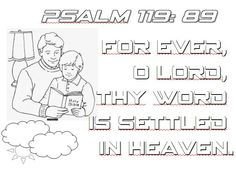 coloring pages for psalm 119 - photo#22