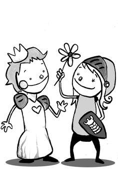 JoAN TuRu [artista de revista] Scouts, Doodle Icon, Turu, Cute Doodles, Illustration, Medieval, Hello Kitty, Snoopy, Clip Art