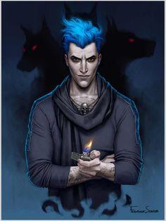 Hades - Modern villain series by Fernanda Suarez Disney Fan Art, Disney Love, Disney Magic, Disney E Dreamworks, Disney Pixar, Walt Disney, Hades Disney, Megara Disney, Modern Disney Characters