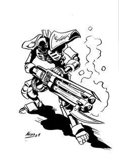 Necron by NachoMon on deviantART