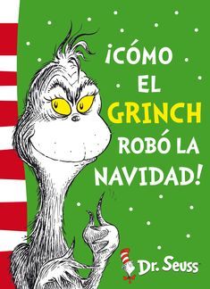 How the Grinch Stole Christmas!: Yellow Back Book (Dr. Seuss – Yellow Back Book)… How the Grinch Stole Christmas!: Yellow Back Book (Dr. Seuss – Yellow Back Book) by Dr. Best Christmas Books, Christmas Colors, Christmas Fun, Christmas Stocking, Le Grinch, Grinch Who Stole Christmas, The Grinch Book, Dr. Seuss, Images Grinch