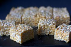 gooey salted brown butter krispy treats by smitten kitchen, via Flickr