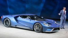 2017 Ford GT debut at Detroit Autoshow