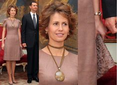 Just a year ago all the major Western taste-makers were pissing themselves over Asma Al Assad . American Vogue did a spread dedicated to . Thick And Thin, Atlanta Georgia, Muslim Women, Office Outfits, Headgear, Scarves, Marriage, Vogue, Classy
