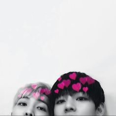 BTS V and Rapmon black and white