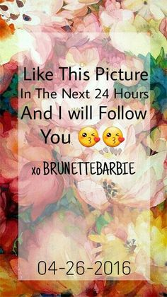 Comment so I can go to your profile ❤✌