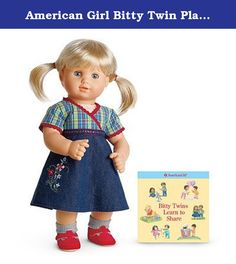 American Girl Bitty Baby Twin Doll Pink Meet Bodysuit Tee