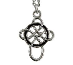 Celtic Symbol For Strength | An Ancient Celtic symbol, wear this Celtic Knot Cross as a charm to ...