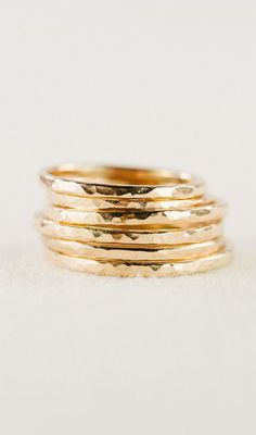 Kaiko ring - gold rings