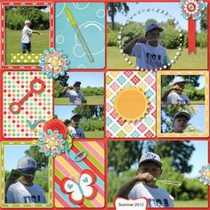 Teresa Carlucci‎Scrapbook Layouts