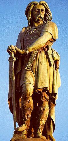 gaul vercingetorix   The savage terrorist, Vercingetorix, who was caught resisting the ...