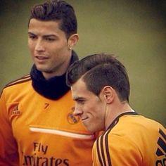 Gareth Bale and Cristiano Ronaldo  Real Madrid