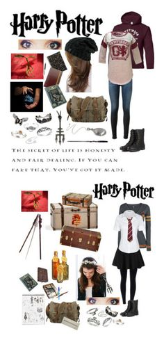 """Harry Potter"" by fireqveen0513 ❤ liked on Polyvore featuring AG Adriano Goldschmied, Bling Jewelry, Fernando Jorge, Sterling Essentials, Pamela Love, H2O+, NOVICA, S.W.O.R.D., Paper Mate and Thomaspaul"