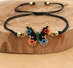SPRING Bumblebee and Butterflie Bead Charm Friendship Bracelets!