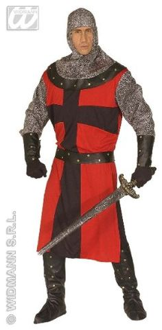 Medieval knight costume for men: Amazon.de: Toys