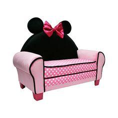 Disney Minnie Mouse Icon Toddler Sofa  - Harmony Kids -  Furniture - FAO Schwarz®