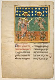 ca. 1180 Culture:Spanish- Illustrated Beatus manuscripts bring to life an extraordinary vision of the end of the world, as recorded by Saint John in the Apocalypse (Book of Revelation) and filtered through the lens of Beatus of Liébana, an eighth-century Asturian monk