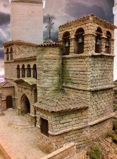 álbumes de fotos Warhammer Terrain, Minecraft Architecture, Fantasy City, Wargaming Terrain, Modern Mansion, Building Exterior, Model Building, Small World, Model Trains
