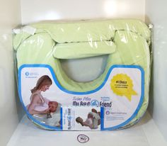 My Brest Friend Twins Plus Nursing Pillow - Green - Breastfeeding #MyBrestFriend