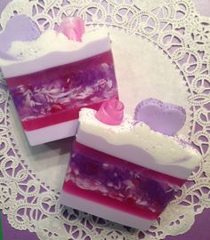 Valentines Day Soap Bar by LusciouslyLathered on Etsy, $5.00