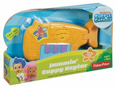 Bubble Guppies Jammin' Guppy Keytar by Fisher-Price NIB Plays Music & Phrases! #FisherPrice