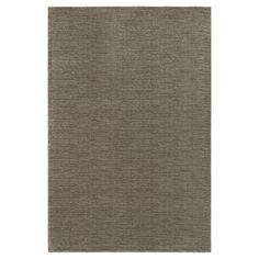 Legacy Solid Brown Accent Rug - Brown (4'X6')