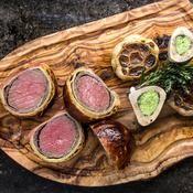 Bœuf Wellington à l'ail confit - une recette Recettes de chefs - Cuisine