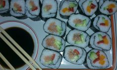 Have you eaten sushi before? But have you prepared it? 'Cause I'll tell you one thing for sure: it's really fun making it.