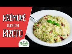 Veľmi jednoduché a zdravé krémové cuketové rizoto ktoré si môžete prispôsobiť podľa vlastných chutí. Zvládne ho každý začiatočník.