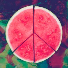 Peace is a new four piece band from the UK, listen to the new track 'California Daze', from their upcoming Delicious EP here. We are in love the this watermelon peace sign! Raglan T-shirt, Creative Review, Tropical, Perfume Bottle, Peace And Love, Summer Time, Summer Things, Summer Dream, Hello Summer