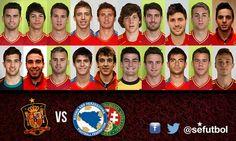 Los convocados Selección Española sub-21