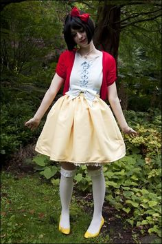 Snow White - modern fashion styling