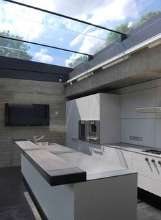 Swains Lane, London — The Modern House Estate Agents: Architect-Designed Property For Sale in London and the UK London Real Estate, Pool Houses, Glass Houses, London House, Roof Light, House Extensions, Kitchen Design, Kitchen Ideas, Future House