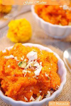 'Gajar-Halwa' /  Carrot Pudding: US Masala